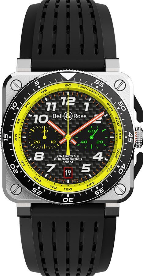 Bell And Ross Watches >> Bell Ross Renault F1 Limited Edition Men S Watch Br0394 Rs19 Srb