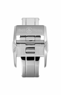 Bell & Ross 18mm Brushed Steel Deployment Buckle FD-I-011
