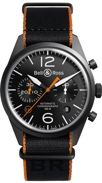 Bell & Ross Vintage Limited Edition Men's Watch BRV126-O-CA