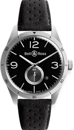 Bell & Ross Vintage Original BRV123-BS-ST/SF