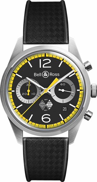 Bell & Ross Vintage Limited Edition Men's Watch BRV126-RS40-ST/SRB