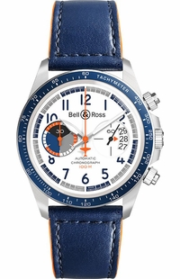 Bell & Ross Vintage Chronograph Limited Edition Men's Watch BRV294-BB-ST/SCA
