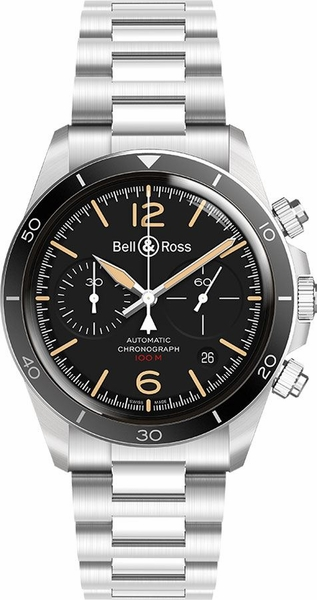 Bell & Ross Vintage New Authentic Men's Watch BRV294-HER-ST/SST