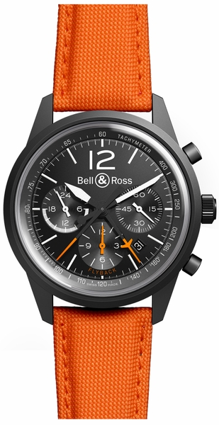 Bell & Ross Vintage Original BRV126-FLY-BB-SCS