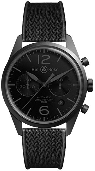 Bell & Ross Vintage Original Chronograph Men's Watch BRV126-PHANTOM