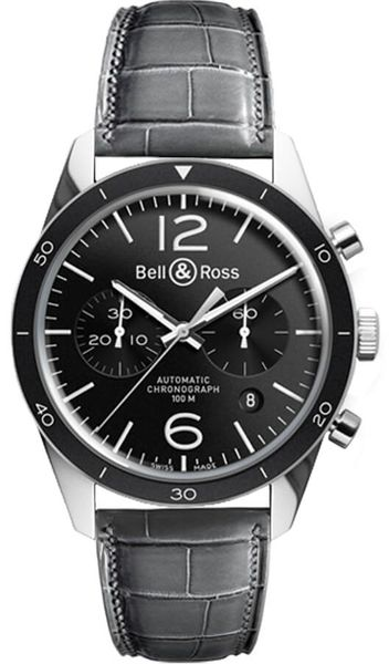 Bell & Ross Vintage Sport Men's Watch BRV126-BL-BE/SCR2