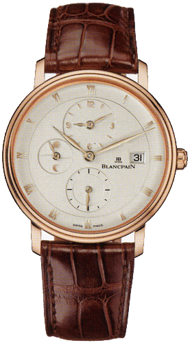 Blancpain Villeret Time Zone Extra Flat 6260-3642-55B