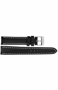Breitling 16mm Black Leather Strap 208X