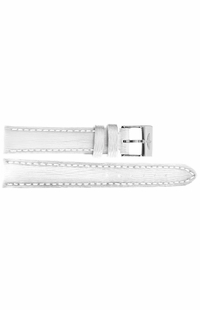 Breitling 16mm White Leather Strap 235X