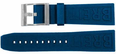 Breitling Diver Pro III 18mm Blue Rubber Strap 238S