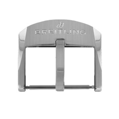 Breitling 18mm Stainless Steel Tang Buckle A18BA.6