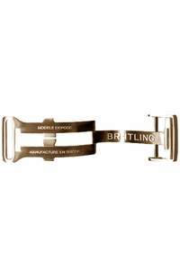 Breitling 20mm Rose Gold Deployment Buckle R20D