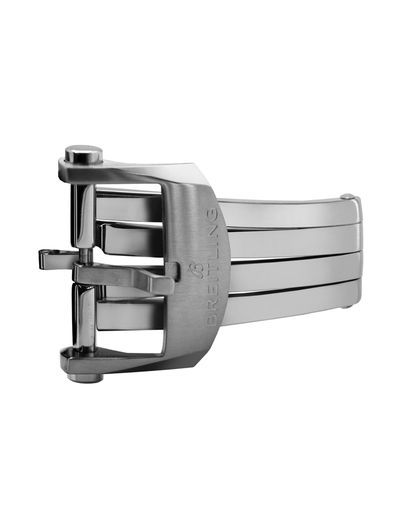 Breitling 20mm Stainless Steel Deployment Buckle A20D6