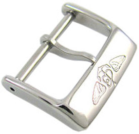 Breitling 20mm White Gold Tang Buckle J20BA