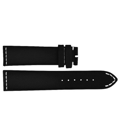 Breitling 21/18 Black Leather Watch Strap 489X