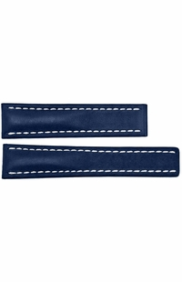 Breitling 21mm Blue Leather Strap 206X