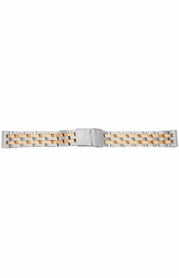 Breitling 22/20mm Gold & Steel Bracelets