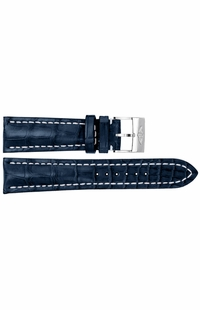 Breitling 22mm Blue Strap 731P