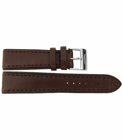 Breitling 24mm Brown Leather Strap 479X