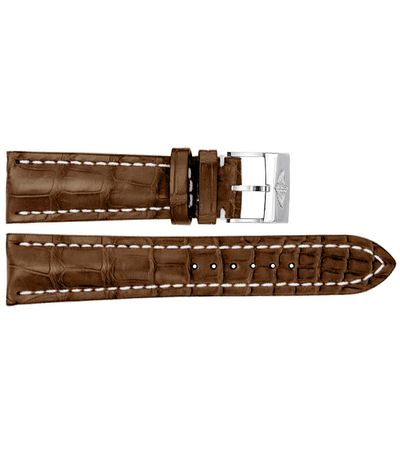 Breitling 24mm Brown Strap 756P / 754P