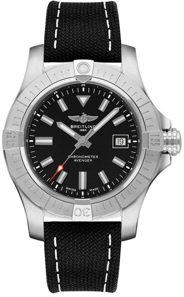 Breitling Avenger Automatic 43 Black Dial Men's Watch A17318101B1X2