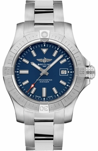 Breitling Avenger Automatic 43 Blue Dial Steel Men's Watch A17318101C1A1