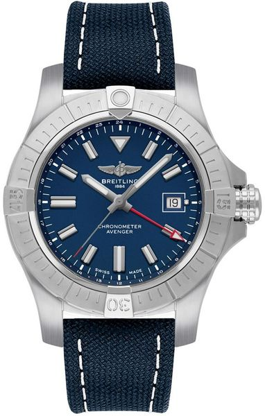 Breitling Avenger Automatic GMT 45mm Steel Men's Watch A32395101C1X2