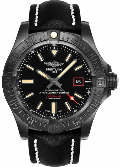 Breitling Avenger Blackbird 44 Men's Watch V1731110/BD74-435X