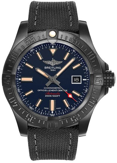 Breitling Avenger Blackbird Blue Dial Limited Edition Men's Watch V173104A/CA23-100W