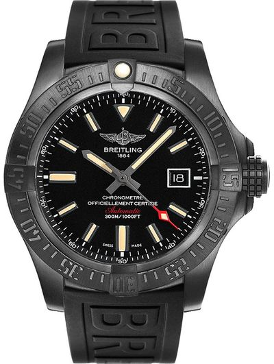 Breitling Avenger Blackbird Titanium Men's Watch V1731010/BD12-155S