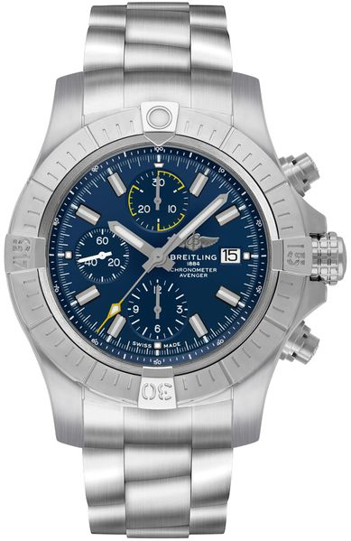 Breitling Avenger Chronograph 45 Blue Dial Men's Watch A13317101C1A1