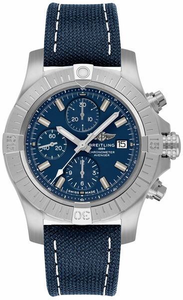 Breitling Avenger Chronograph Blue Men's Watch A13385101C1X1