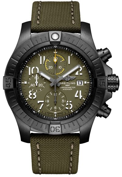 Breitling Avenger Chronograph Night Mission Men's Watch V13317101L1X1