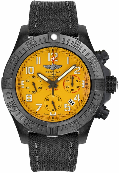 Breitling Avenger Hurricane 45 Cobra Yellow Men's Watch XB0180E41I1W1