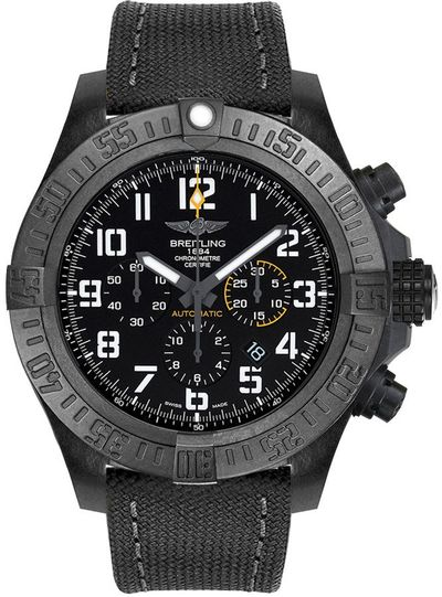 Breitling Avenger Hurricane Black Dial Men's Watch XB0170E4/BF29-100W