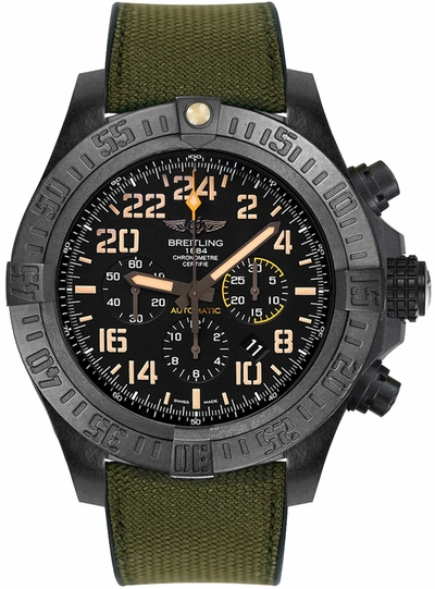 Breitling Avenger Hurricane Military Limited Edition Men's Watch XB12101A/BF46-283S