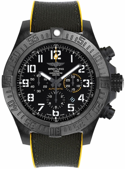 Breitling Avenger Hurricane Volcano Black Dial Men's Watch XB0170E4/BF29-257S