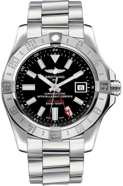 Breitling Avenger II GMT Automatic Men's Watch A3239011/BC35-173A