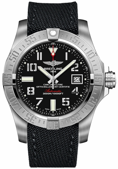 Breitling Avenger II Seawolf Steel 45mm Men's Watch A1733110/BC31-101W