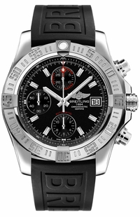 Breitling Avenger II Volcano Black Dial Men's Watch A13381111B1S1
