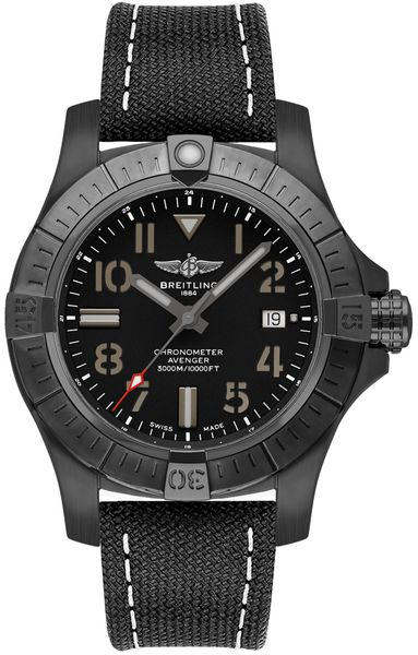 Breitling Avenger Automatic 45 Seawolf Night Mission Men's Watch V17319101B1X2