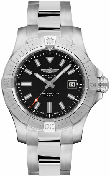 Breitling Avenger Automatic 43 Black Dial Men's Watch A17318101B1A1