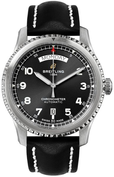 Breitling Aviator 8 Automatic Day & Date 41 Men's Watch A45330101B1X2