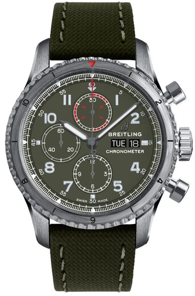 Breitling Aviator 8 Chronograph 43 Men's Watch A133161A1L1X1