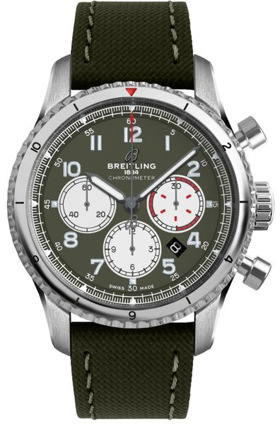 Breitling Aviator 8 Curtiss Warhawk Men's Watch AB01192A1L1X2