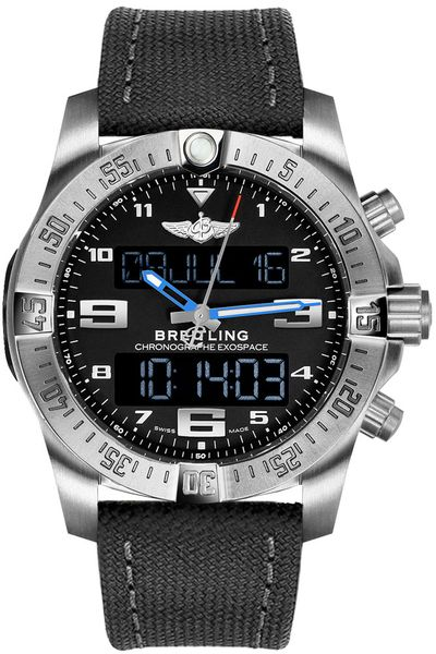 Breitling Exospace B55 Men's Titanium Watch EB5510H2/BE79-100W