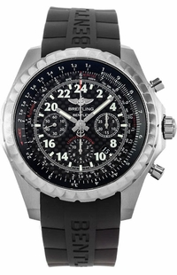 Breitling Bentley 24H Black Dial Men's Watch AB022022/BC84-244S
