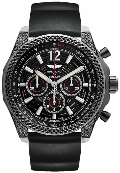 Breitling Bentley Barnato 42 Midnight Carbon M41390AN/BC83-217S