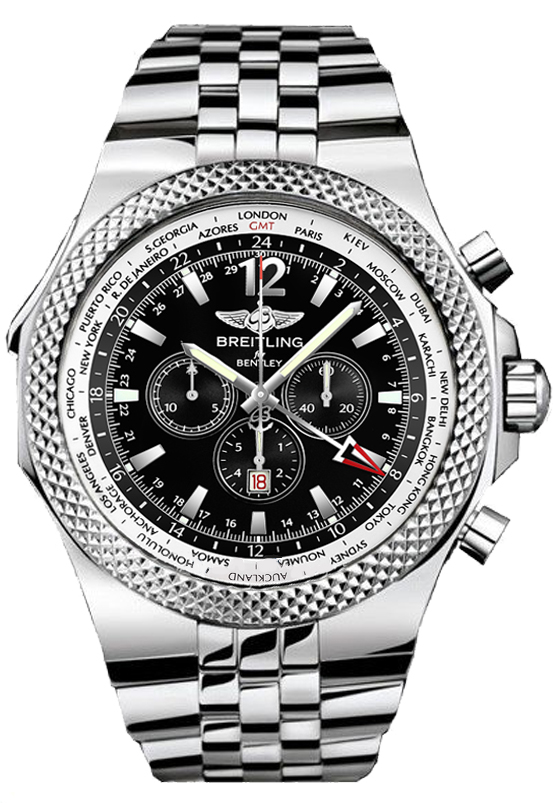Breitling For Bentley >> Breitling Bentley Gmt A4736212 B919 998a