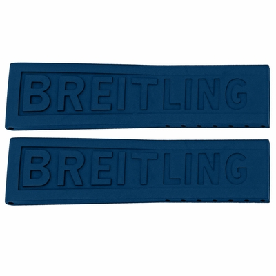 Breitling Diver Pro III 22mm Blue Rubber Strap 157S